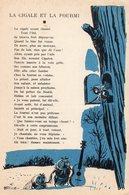 """PUBLICITE -- (Nestlé) -""""La Cigale Et La Fourmi"""" édition:Beuville ?. """"- - Vieux Papiers"""