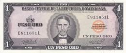 BILLETE DE LA REPUBLICA DOMINICANA DE 1 PESO ORO DEL AÑO 1976 CALIDAD EBC (XF) (BANKNOTE) - Dominicana