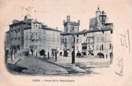 France - 30 - Uzès - Place De La République - Uzès