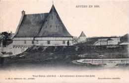 Anvers En 1860 - Tour Bleue Côté Sud - Antwerpen