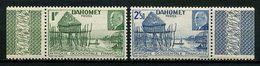 DAHOMEY 1941 N° 149/150 ** Neufs MNH Superbes C 1.92 € Village Lacustre Pétain - Dahomey (1899-1944)