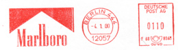 Freistempel 1053 Marlboro Zigaretten - Affrancature Meccaniche Rosse (EMA)