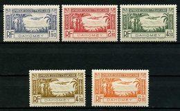 DAHOMEY 1940 PA N° 1/5 ** Neufs MNH  Superbes C 4,92 €  Avions Planes Transports - Nuovi