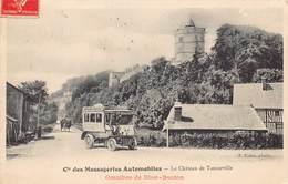 Cie Des Messageries Automobiles - Le Château De Tancarville - Omnibus De Dion-Bouton - France