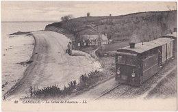 35. CANCALE. La Grève De L'Aurore. 82 (train) - Cancale