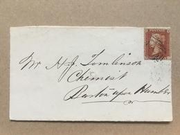 GB Victoria 1850`s Front Of Cover - 1840-1901 (Regina Victoria)