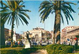 Italia - Palermo Piazza Castelnuovo -gel. - Palermo