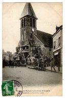 CPA Dampierre Yvelines 78 Obsèques De Madame La Duchesse De Luynes Eglise 2 Novembre 1905 éditeur Bourdier - Dampierre En Yvelines