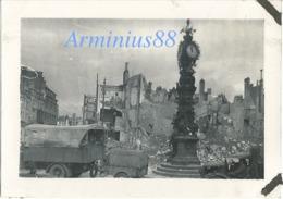 Campagne De France 1940 - Amiens - Place Gambetta, Horloge Dewailly - Wehrmacht Im Vormarsch - Westfeldzug - War, Military