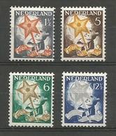Nederland Pays-Bas Netherlands NVPH 261/64 Complete Set Mint / MH / * (NVPH 261 Is MNH / **) 1933 - Nuovi
