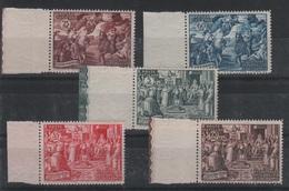 1951 Italia Vaticano Concilio Di Calcedonia Serie Cpl MNH Qualità Lusso - Nuovi