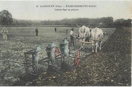 LIANCOURT Etablissement Bajac.Labour Léger Au Polysoc.Agriculture - Liancourt