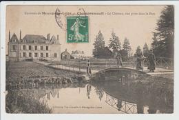 CHAMPREMAULT - LOIRET - LE CHATEAU, VUE PRISE DANS LE PARC - Sonstige Gemeinden