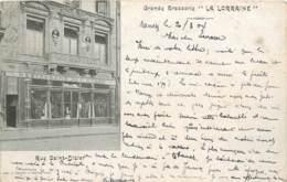 NANCY GRANDE BRASSERIE LA LORRAINE RUE SAINT DIZIER - Nancy