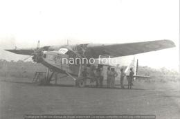 PHOTO AVION   BLOCH    RETIRAGE REPRINT - Aviation