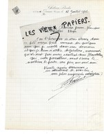 33 - Gironde - BARSAC - Facture CHATEAU PIADA - 1916 - REF 153B - France