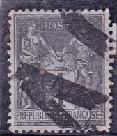 France YT 83 Oblit Typo Des Journaux - 1876-1898 Sage (Type II)