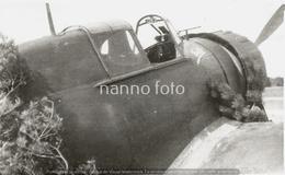 PHOTO AVION     BLOCH 152 C1 N°605 TOTO COMMAUTRE 1 JUIN 1940    RETIRAGE REPRINT - Aviation