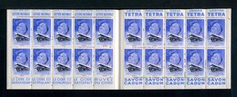 Carnet De 1939  - Tuberculose - Antituberculeux - N° 39S*MAROC*9  Banania Tétra Cidre Savon Cadum-Loterie-Simmons - Blocs & Carnets