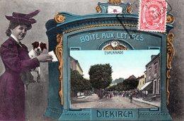 Luxembourg   DIEKIRCH   L' Esplanade - Diekirch