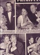 (pagine-pages)LIZ TAYLOR  Giramondo1953/10. - Autres