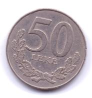 ALBANIA 1996: 50 Leke, KM 79 - Albania