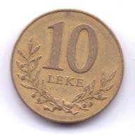 ALBANIA 1996: 10 Leke, KM 77 - Albania
