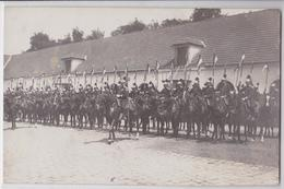 Versailles - Carte-photo Militaire 27e Dragons Photo Noari St-Cyr-l'Ecole Cuirassiers Cuirassier Porte-Etendard - Versailles
