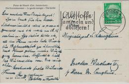 Dresden 1937 K Hindenburg - Altstoffe Sammeln Und Abliefern - Milieubescherming & Klimaat