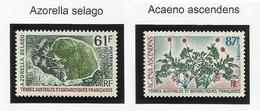 TAAF N° 52 Et 53 ** Neufs De 1974 Flore - Neufs