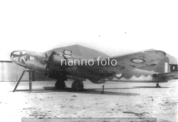 PHOTO AVION     Bloch MB.131 N°124 GR 155 A ORANGE 1940    RETIRAGE REPRINT - Aviation