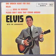 ELVIS PRESLEY - EP - 45T - Disque Vinyle - One Broken Heart For Sale - 86310 - Vinyles