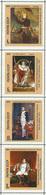 USSR Essay?? - WORLD MUSEUMS  NAPOLEON   -  4 Stamps - Napoléon