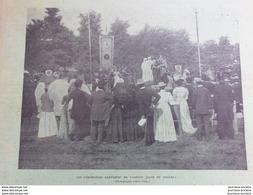 1899 CARDIFF LES FÊTES BARDIQUE - SAINT CYR FÊTE DU TRIOMPHE - LE PRÉSIDENT KRUGER - PATIN - LOTTINGHEM - Bücher, Zeitschriften, Comics