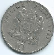 Tanzania - 10 Shilingi - 1987 - KM20 - Tanzanía