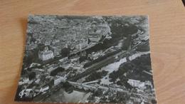 CSM -  1195. PAU - Vue Aérienne, Le Pont Sur Le Gave Et Le Château - Pau