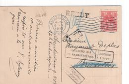 Amsterdam - Rebur - Onbekend Naamafroeping - Retour 1913 - Poststempels/ Marcofilie