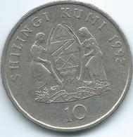 Tanzania - 10 Shilingi - 1993 - KM20a - Tansania