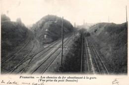 Frameries - Les Chemins De Fer Aboutissant à La Gare - DVD N° 7944 - Frameries