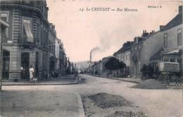 France - 71 - Le Creusot - Rue Marceau - Le Creusot