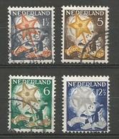 Nederland Pays-Bas Netherlands NVPH 261/64 Complete Set Used 1933 - Used Stamps
