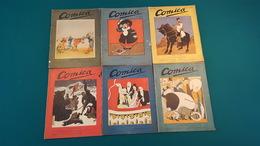 6 Premiers Numéros De La Revue COMICA 1908/09 ( Publication Limitée à 6 Numéros ) - Paquete De Libros