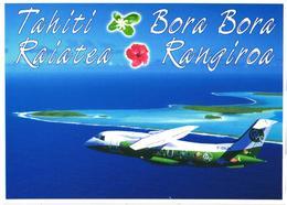Tahiti, Bora Bora, Raiatea, Rangiroa, Passenger Airplane Dornier 328 - 1946-....: Era Moderna