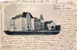 Luxembourg - Souvenir De Mondorf-les-Bains - Couvent Ste Elisabethe - Edit. E.P. Kraemer - Mondorf-les-Bains