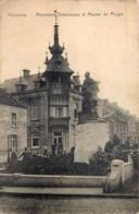 Belgique - Frameries - Monument Defuisseaux Et Maison Du Peuple - Frameries