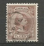 Nederland Pays-Bas Netherlands NVPH 36 Used 1891/94 - Used Stamps
