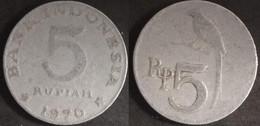 Indonesia - 5 Rupiah 1970 Used (ia004) - Indonesia