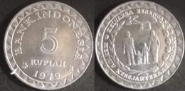 Indonesia - 5 Rupiah 1979 Used (ia005) - Indonésie
