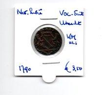 NEDERLANDS INDIE VOC DUIT UTRECHT 1790 - Coins