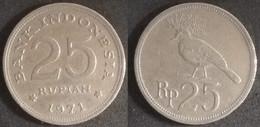 Indonesia - 25 Rupiah 1971 Used (ia010) - Indonesia